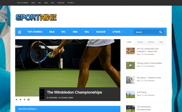 Sport Nine – A Sports Web Channel