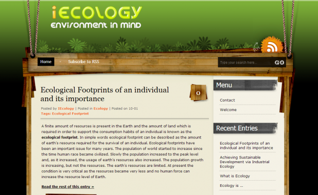 iEcology :: Environment in Mind